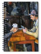 Cezanne: Card Player, C1892 Spiral Notebook
