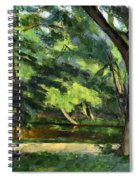 Cezanne: Etang, 1877 Spiral Notebook