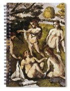 Cezanne: Five Bathers Spiral Notebook