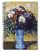 Cezanne: Flowers, 1873-75 Spiral Notebook