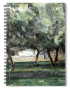 Cezanne: Le Clos Normand Spiral Notebook
