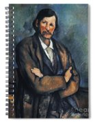 Cezanne: Man, C1899 Spiral Notebook