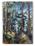 Cezanne: Pines, 1896-99 Spiral Notebook