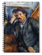 Cezanne: Pipe Smoker, 1900 Spiral Notebook