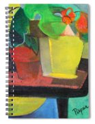 Cezanne Potting Stand Spiral Notebook