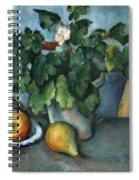 Cezanne: Still Life, C1888 Spiral Notebook