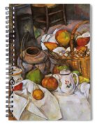 Cezanne: Table, 1888-90 Spiral Notebook