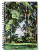 Cezanne: Trees, C1885-87 Spiral Notebook