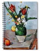 Cezanne: Tulips, 1890-92 Spiral Notebook