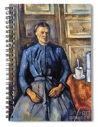 Cezanne: Woman, 1890-95 Spiral Notebook
