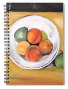 Cezannes Fruit Bowl Spiral Notebook