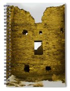 Chaco Canyon Ruins Spiral Notebook