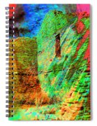 Chaco Culture Abstract Spiral Notebook