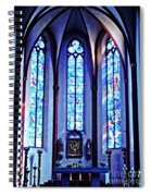 Chagall Windows In St Stephen's Church 1   Spiral Notebook