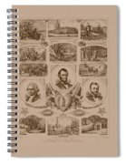 Chain Of Events In American History Spiral Notebook
