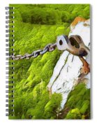 Chain Reaction Spiral Notebook