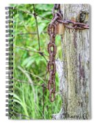 Chain Reaction Spiral Notebook