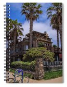 Chained To Venice Beach Spiral Notebook