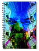 Chains Of Terror Spiral Notebook