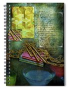 Chains, Poetry And Spirits Spiral Notebook