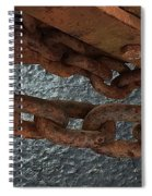 Chains To The Sea Spiral Notebook