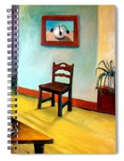 Chair And Pears Interior Spiral Notebook
