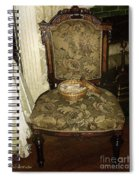 Chair By The Hearth Spiral Notebook