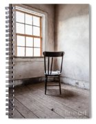 Chair By The Window Grafton Ghost Town Spiral Notebook