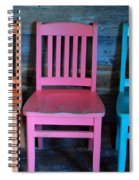 Chairs Spiral Notebook