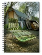 Chaise Lounge Spiral Notebook
