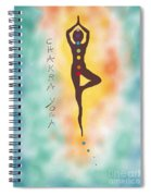 Chakra Yoga Art By Valentina Miletic Spiral Notebook