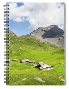 Chalets De Clapeyto # II - French Alps Spiral Notebook