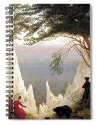 Chalk Cliffs Spiral Notebook
