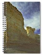 Chalk Pyramids Spiral Notebook
