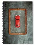 Chalkboard Toy Car Spiral Notebook