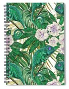 Chameleons And Camellias  Spiral Notebook