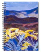 Chamisa And Mountains Of Santa Fe Spiral Notebook