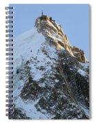 Chamonix - Aiguille Du Midi Spiral Notebook