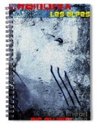 Chamonix Les Alpes Spiral Notebook