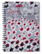 Champs De Marguerites - Love Is In The Air - Red -a23a3 Spiral Notebook
