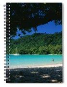 Champagne Beach Spiral Notebook