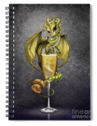 Champagne Dragon Spiral Notebook