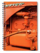 Champion 9g Tractor 02 Spiral Notebook