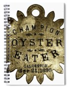 Champion Oyster Eater - To License For Professional Use Visit Granger.com Spiral Notebook