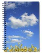 Champs De Colza Spiral Notebook