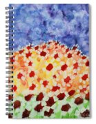 Champs De Marguerites - 01 Spiral Notebook