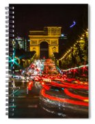 Champs Elysees Spiral Notebook