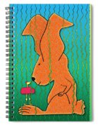 Chance Encounter Spiral Notebook