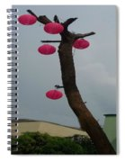 Chandelier On A Tree Spiral Notebook
