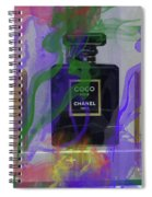 Chanel Coco Abstract Spiral Notebook